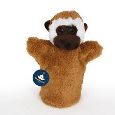 Spielzeug Handpuppen für Kinder 8x Tierpuppen Handspielpuppen Affenpuppe Zoo Set Kleinkind