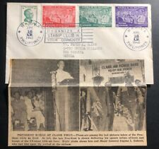 1948 Manila Philippines First Day Cover FDC President Roxas Taking Oath