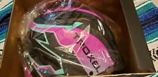 Fallon Taylor Helmet Troxel Pink Riot Large Horse Safety Equipment Rodeo NWT