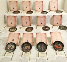 Russian Legends Limited Edition Plates Complete Set 12 W/C.O.A Reduced by $100