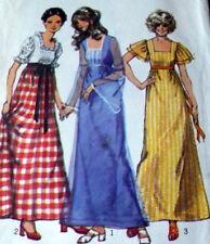 *LOVELY VTG 1970s DRESS Sewing Pattern 8/31.5