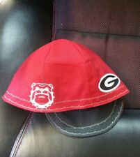 Wendys Welding Welding Hat Made With Georgia Bulldog Application  New!