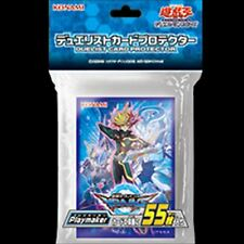Yugioh OCG Duelist card protector sleeves Playmaker 55pcs holo