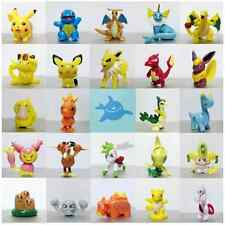 Hot Toys 24pcs Random Mixed Lots Pokemon Pikachu Monster Mini Pearl Figures Toys