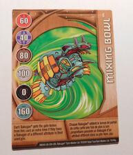 BAKUGAN Battle Brawlers MIXING BOWL Metal Card 19/48q BA649 2009
