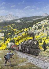 """1932 Railfan"" Don Feight Railroad Print - Moffat Tunnel - Continental Divide"