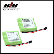 2pcs 3.6v 2000mAh NI-MH Battery for Panasonic KX-A36 P-P501 Uniden BT-905 BT905