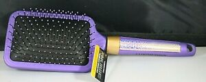Luxor Pro Animal Hair Brush Purple Paddle Brush Wildest Brush Ever