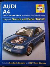 Haynes Manual Audi A4 1995 - 2000 Petrol & Diesel 3575