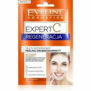Eveline EXPERT C 3in1 Regenerating Multivitamin Face Scrub Fine-grained 2x5ml