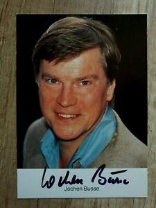 Jochen Busse - Handsignierte Autogrammkarte (Original)