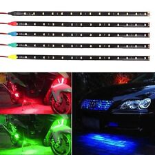 12V 15 LED 30cm Car Motor Vehicle Flexible Waterproof 3528 Strip Light 1/5 pcs