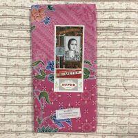 Batik Sarong Indonesia 100% Cotton Handmade Skirt Long Wrap Dress Pink Floral