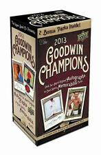 2013 Upper Deck Goodwin Champions Baseball Factory Sealed Blaster Box