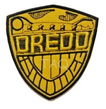 Judge Dredd Logo Iron On Patch Sew Sci Fi Badge Costume Cosplay Movie Film Comic