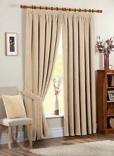 Polyester Contemporary Solid Ready Made Curtains & Pelmets