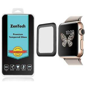 ZenTech® Apple Watch Series 3 42 mm - Tempered Glass FULL COVER Screen Protector