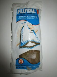 NEW - Pack of 3 -  Fluval 1 Carbon Sleeve Filter Cartridges - Code A-341