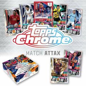2020-21 Topps Chrome Match Attax UEFA League /299 /150 /99 /50 /25 Freie Auswahl