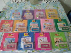 Worlds of Wonder - full set of Mickey Mouse Tape and Book Combos - EUC