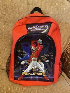 Power Rangers Backpack Rucksack Bag