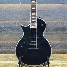 ESP LTD EC-1000 Piezo Left-Handed See Thru Black Electric Guitar #IW18031071