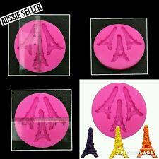 Eiffel tower silicone mold PARIS Fondant  Sugarcraft mould Cake supplies