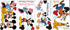 Disney MICKEY MOUSE Minnie Wall Stickers 30 decals room decor Clubhouse Pluto +