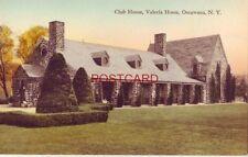 CLUB HOUSE, VALERIA HOME, OSCAWANA, N. Y. Hand-colored