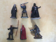 Lot 6 Figurines en plomb Star Wars