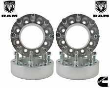 "4 1994-2011 Dodge Ram 2500 3500 1.5"" Forged Billet Aluminum 8 Lug Wheel Spacers"