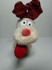 NWT Vintage 1983 Odie Reindeer by Dakin plush Garfield stuffed animal Christmas