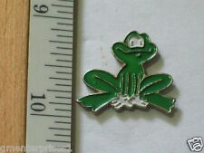 Frog Pin , Silly Frog Lapel Pin , Leap Frog , (*)