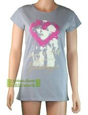 Golddigga Gris Rosa Oro Blanco Debbie Harry r&r Camiseta 10 Pequeña freeuk Envío