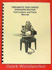 JET/Asian POR-22 Overarm Router Operator's & Parts Manual 0398