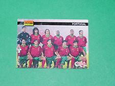 FOOTBALL CARD UEFA EURO 96 1996 TEAM PORTUGAL EUROPEAN STARS PANINI