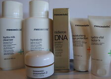 COSMELAN 2 SKIN SET HYDRA K, SUNBLOCK, MILK CLEANSER, TONIC, RADIANCE SERUM KIT