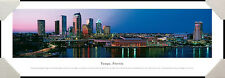 Tampa, Florida City Skyline Hillsborough River Framed Poster Picture II