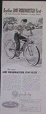1953 AMF  Flying Falcon Bike 3~Speed Balloon Tires Ad