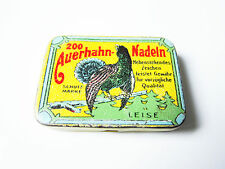 Grammophon NADELDOSE AUERHAHN - gramophone needle tin