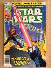 STAR WARS #37 Fine 1980 Marvel Luke Skywalker Darth Vader R2D2 Light Sabers!!!