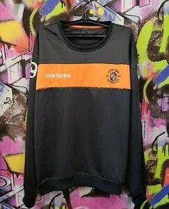 Luton Town FC Hatters Football Soccer Longsleeve Sweatshirt Carbrini Mens 2XL