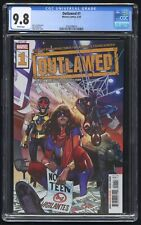 Outlawed #1 CGC 9.8 (Marvel 5/20) New Champions; Nova, Miles Morales, Kamala