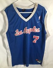 Los Angeles Clippers Lamar Odem Nike Disstresded Jersey Size Mens 3 XL