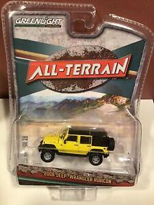 Greenlight All-Terrain series 11 2008 Jeep Wrangler Unlimited Rubicon