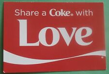 Share a Coke With Love - New Coca-Cola Postcard from Belgium
