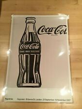 COCA-COLA Bottle Door Size POSTER COKE Bottle Ice Cold 1988 One Stop Poster Co.