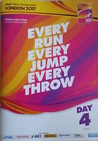 Day 4 London 2017 IAAF World Athletics Championships Daily Guide - Bolt edition
