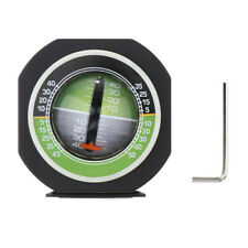 Car Inclinometer Tilt Gauge Angle Slope Level Gradient Balancer Protractor