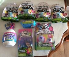 HATCHIMALS COLLEGGTIBLES ASSORTED LOT (8) 2 PACK NEST,CRYSTAL LOCKET,MINI CITRUS